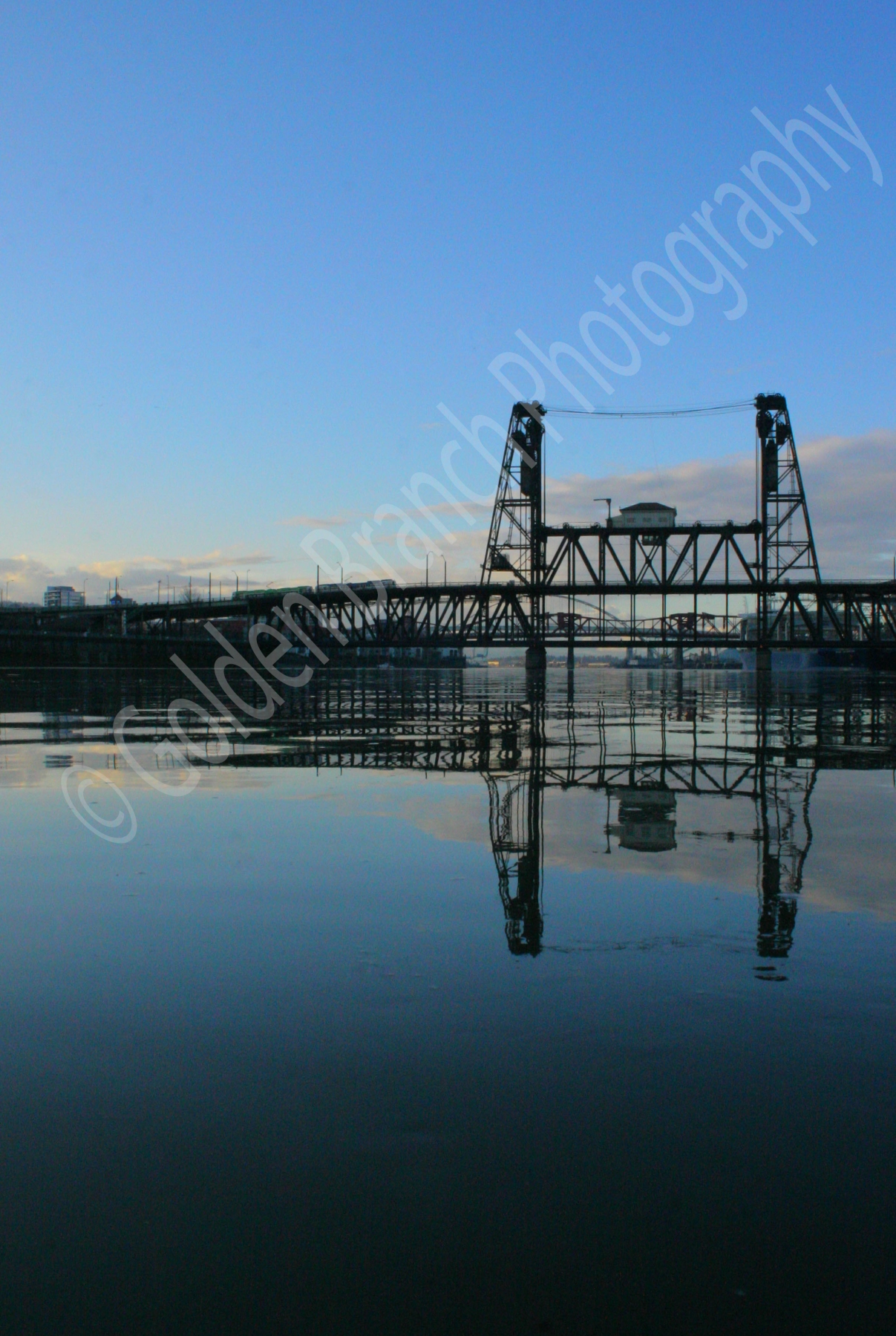 Steel Bridge Reflection